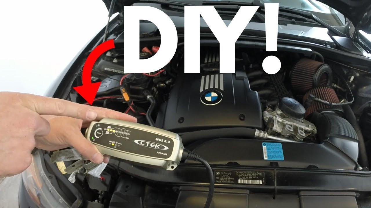 How To Charge A Bmw Battery Ctek 4 3