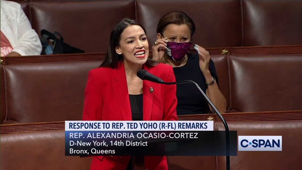 AOC Addresses the House After Rep. Ted Yoho Apologizes