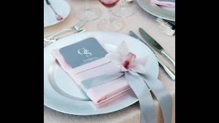 Свадебный декор. Сервировка стола.