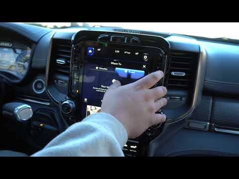 """Review of the New 12"""" Uconnect Display on 2019 Ram HD Trucks"""