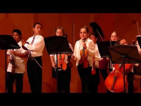 Tuana`s first violin concert at Arizona State University