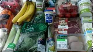 Aldi Australia Grocery Shopping Haul 2015