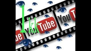 Бесплатная раскрутка YouTube! 2017