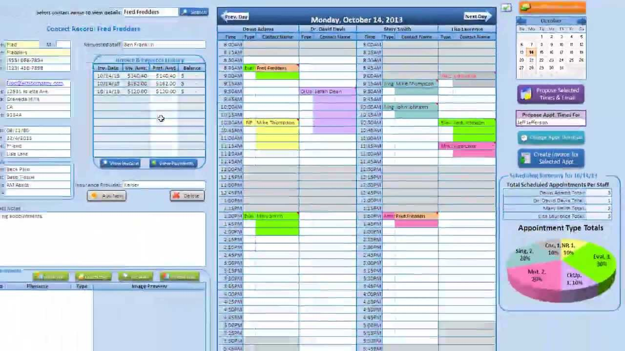 Medical, Massage U0026 Salon Scheduling Application Tutorial   YouTube