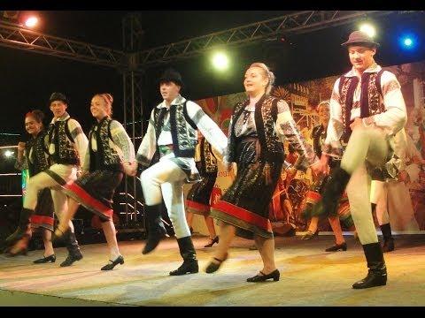 Romanian Folk Dance at Dubai Shopping Festival