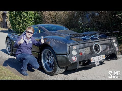 Is the €3m Zonda F Clubsport the BEST THING EVER?! | TEST DRIVE