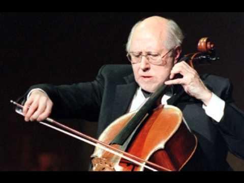 Rostropovich: Rachmaninov Cello Sonata, 1st Movement