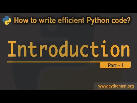 Python Code Optimization - Introduction  