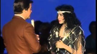 Dick Clark Interviews LaToya Jackson- American Bandstand 1984