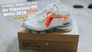 Đập Hộp + Đánh giá + On Feet đôi Nike Air Vapormax Off White 2018