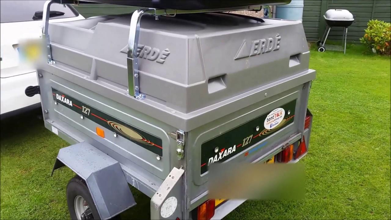 Daxara 127 Erde Abs Lockable Hardtop Cover Load Bars
