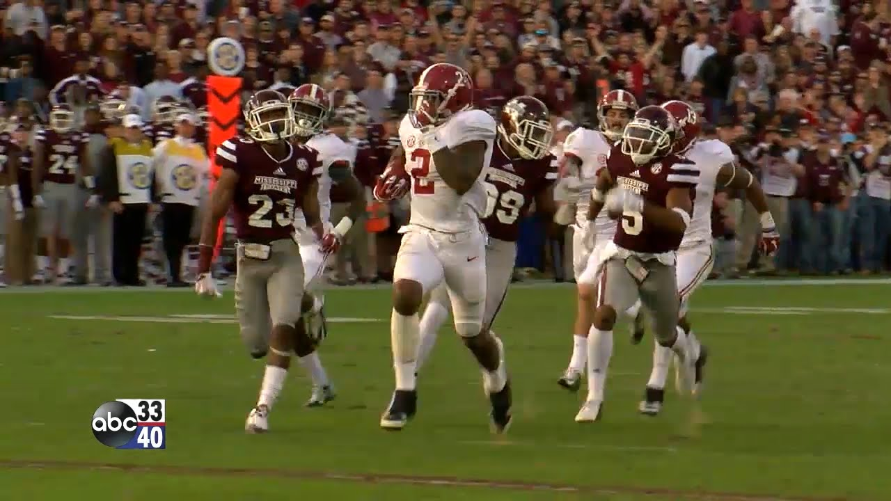 Alabama Mississippi State Game 2015 Highlights From The 1st Half
