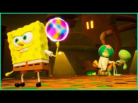 SpongeBob and Sandy Vs Robo Patrick | SpongeBob SquarePants Battle For Bikini Bottom Rehydrated Game |