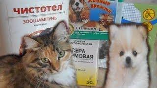 Средства ухода и гигиены для домашних животных