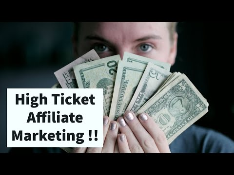High Ticket Affiliate Marketing !! thumbnail