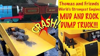 Dump Truck Mud and Rock - Thomas and Friends World's Strongest Engine