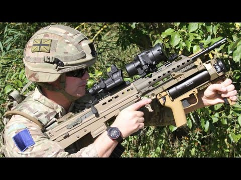 British Army - VIRTUS Body Armour & SA80A3