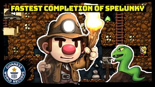 Fastest Any% completion of Spelunky - Guinness World Records