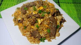 Arroz frito o arroz chaufa Peruano