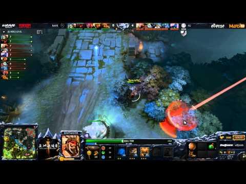 iG vs Rave - Game 2 (Dota 2 Asia Championships) - LD & Merlini