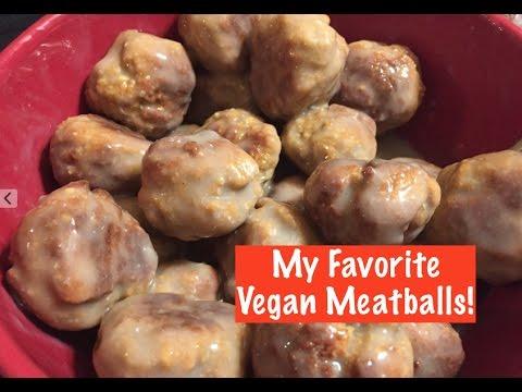 My Favorite Vegan Meatballs!