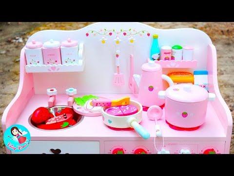 ละครสั้น ตอน คุณแม่ทำกับข้าว ของเล่นเครื่องครัวไม้ คลิป 100 ล้านวิว Fairy Doll TV