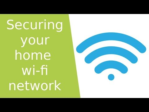 Securing your home wifi connection - 7 recommendations to improve your wifi security