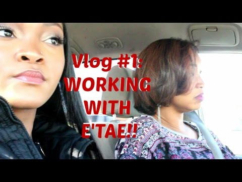 Vlog 1: Visiting The E'TAE Salon, Hanging Out In Philly, Shooting A Commercial!?