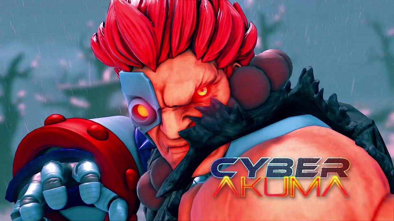 Street Fighter V: Cyber Akuma Costume Trailer