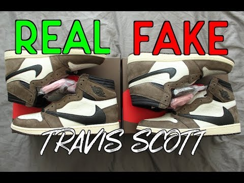 HOW TO: Tell If Your 2019 Jordan 1 Travis Scott Is Real or Fake (Crazy Comparison)