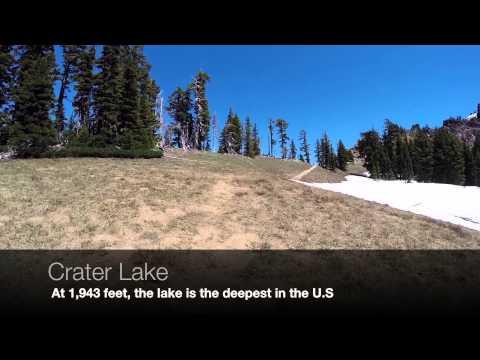 Day Hike    Crater Lake, Oregon