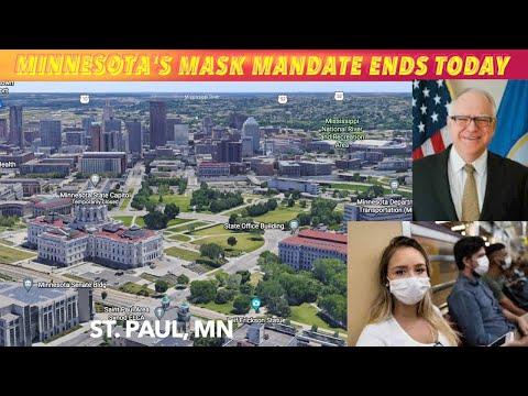 Minnesota's Mask Mandate Ends Today