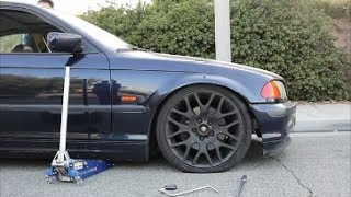 Test Fitting Wheels On E46