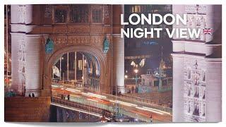 London Night View in 4K 런던 야경…