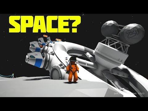 Going to SPACE? Building to the Space Station! E10 Astroneer Research Update   Z1 Gaming