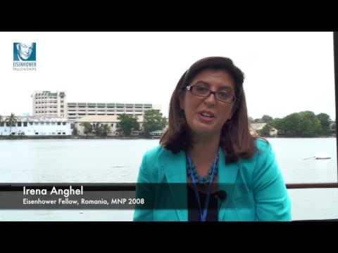 Irina Anghel-Enescu discusses her Eisenhower Fellowship