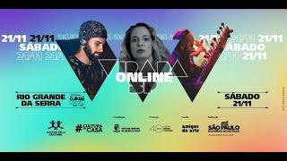 VIRADA SP ONLINE RIO GRANDE DA SERRA | #CulturaEmCasa