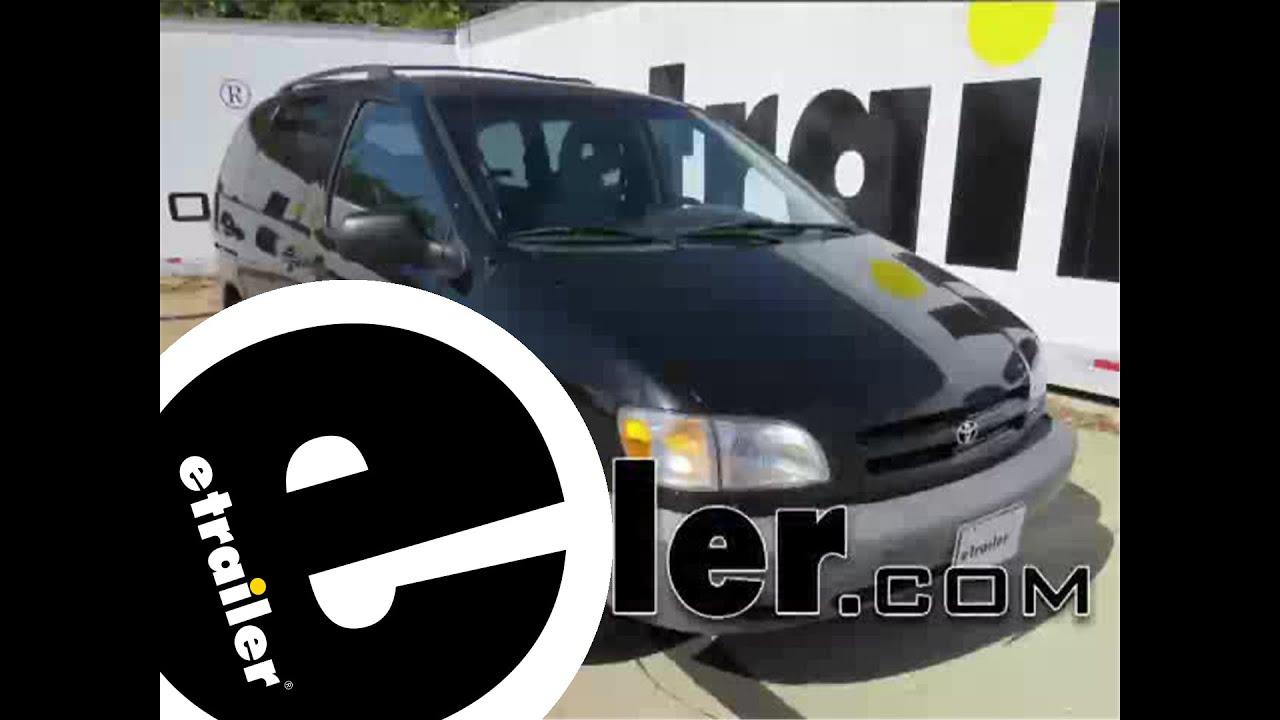 Trailer Wiring Harness Installation  2000 Toyota Sienna