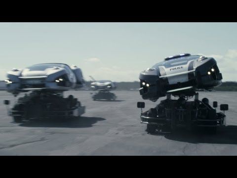 TOTAL RECALL: REAL HOVER CARS