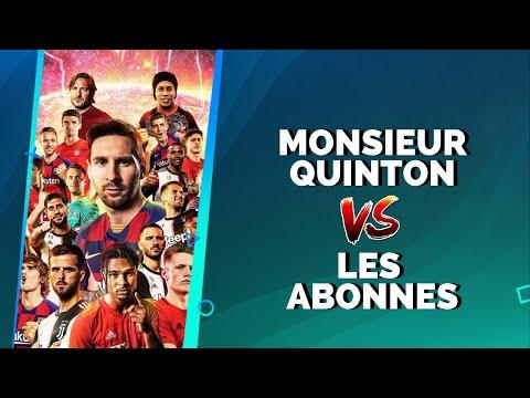 PES 2020 : Monsieur Quinton vs. Les abonnés !