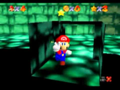 Super Mario 74 Video Walkthrough Green Switch Palace Toxic Switch
