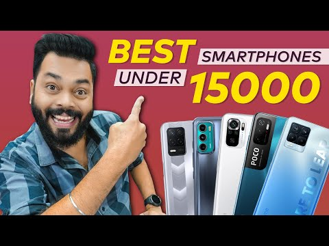 Top 5 Best Mobile Phones Under ₹15000 Budget ⚡ July 2021
