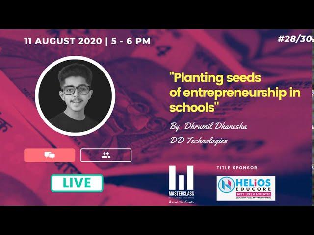 Planting seeds of entrepreneurship in schools
