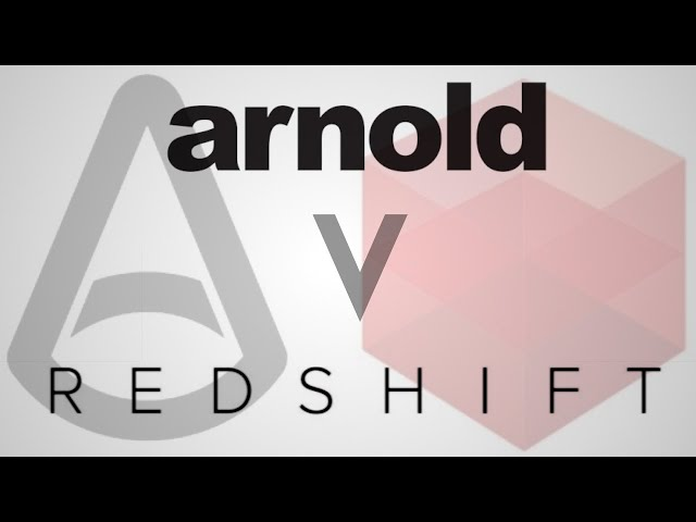 Arnold GPU vs CPU vs Redshift