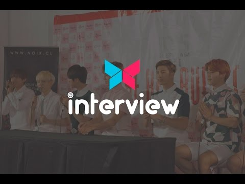 150802 방탄소년단 - BTS LIVE TRILOGY EPISODE II in Chile (Press Conference)