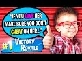 CUTEST 10 YEAR OLD HELPS ME GET A GIRLFRIEND ON FORTNITE!! (EMOTIONAL)