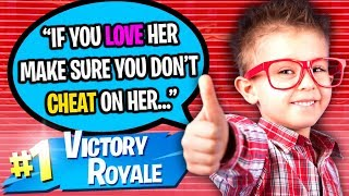 CUTEST 10 YEAR OLD HELPS ME GET A GIRLFRIEND ON FORTNITE!! (ÉMOTIONNEL)
