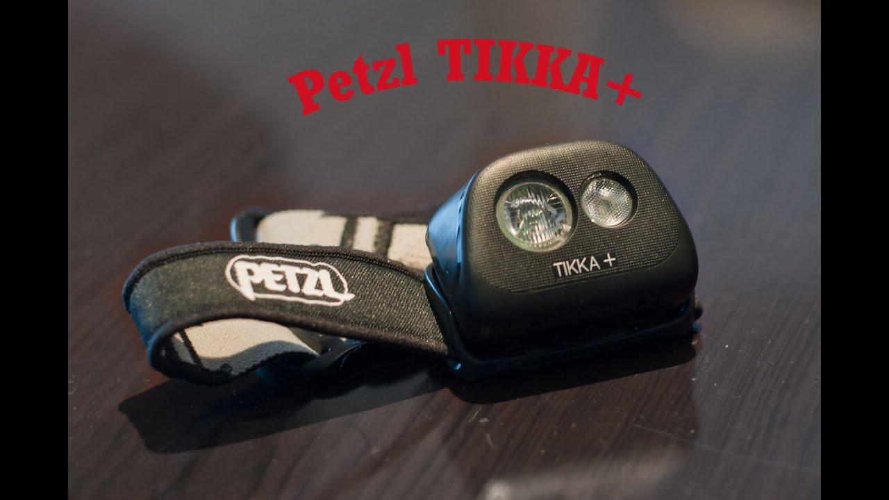 Petzl Tikka Plus Active Headlamp Short Review and Specs ...