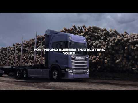 Soluciones Scania-Transporte de madera