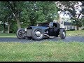 1929 Ford Roadster Pickup Truck in Black & Engine Sound & Ride on My Car Story with Lou Costabile